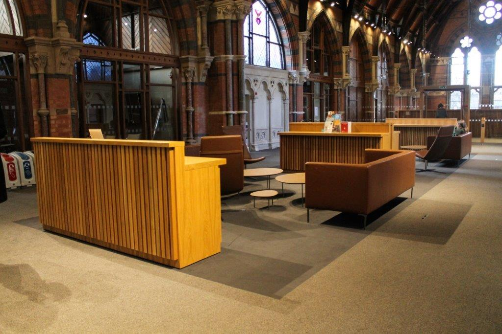 Queens University, Belfast – Lynn Building by MDE Installations